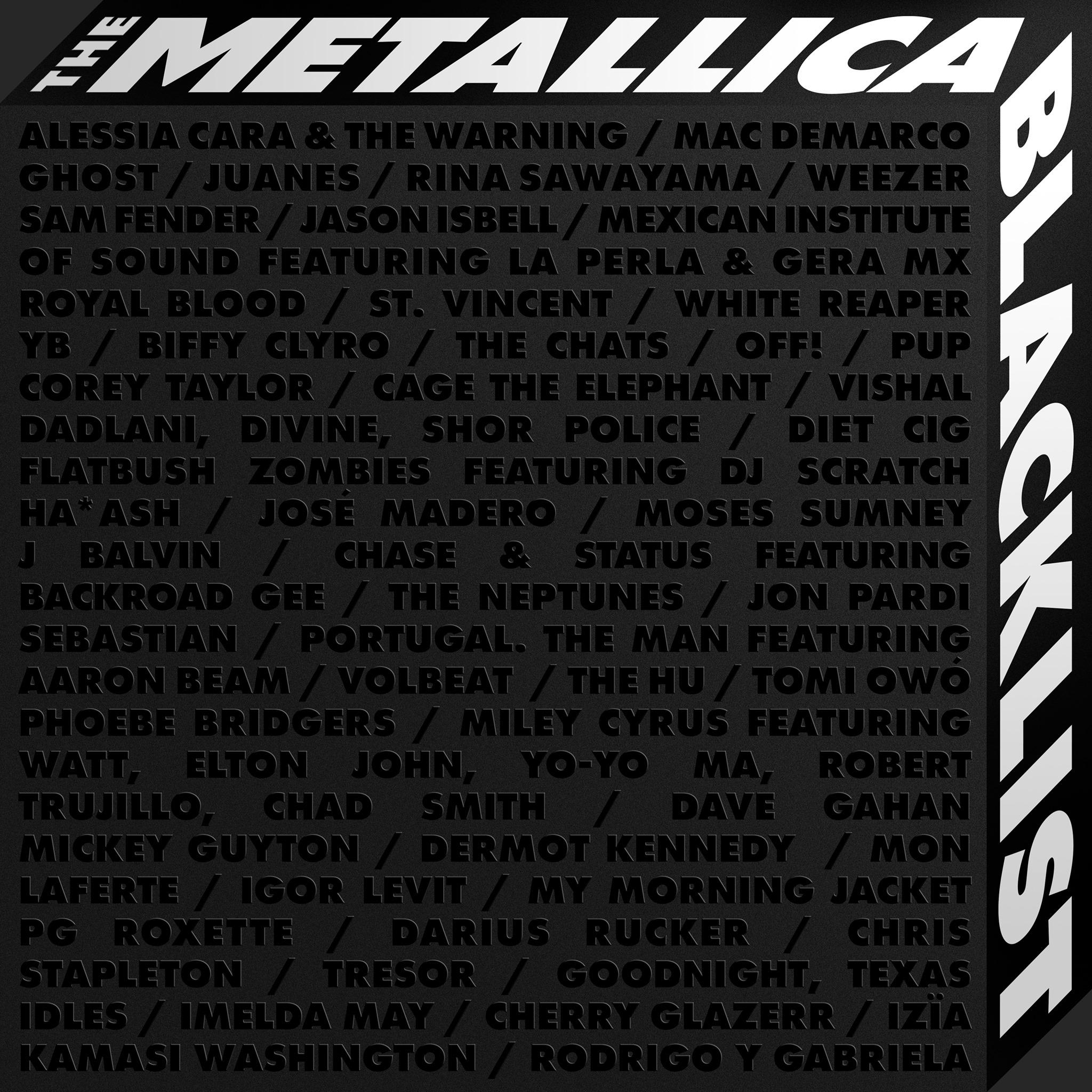 metalllica - the black list